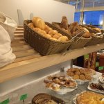 Choice of breads, pastries and cakes
