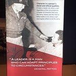 Patton's philosophy on leadership.