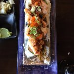 Nemo Sushi Rolls are fresh & delicious! Fresh ginger perfect on the side.