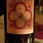 French Red Chateau Lassegue 5 * wine