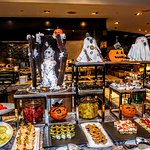 Hand-crafted Halloween buffet