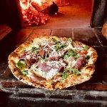 Pizza..Prosciutto crudo Parma nice