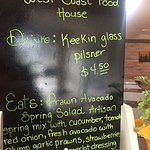 Daily specials, West Coast Food House, 6060 West Island Highway | Qualicum Beach, Qualicum Beach