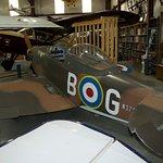 Sportfire, based on the WW2 Supermarine Spitfire.