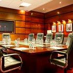 The elegant functional executive boardroom in Crowne Plaza Dublin