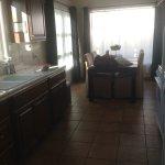 Dining room beyond kitchen