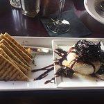 Baked Brie Appetizer, Blackfin Pub  132 Port Augusta St, Comox, British Columbia