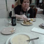 best of bowl of oyster stew -- buttery & creamy_ hot & steamy