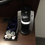 Keurig in room