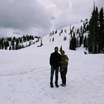 Medicine Bow National Forest, Wyoming - Snow Skiing