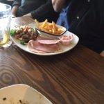 Ham sandwich. Ran out of bread, guys?
