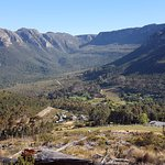 Day 3 - looking back to Table Mountain and Orange Kloof