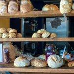 Gorgeous fresh bread at The Crimson Tree