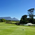 Golf course and Table Mountain