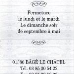 Photo of La Table Bagesienne