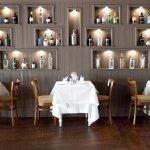 Gin Wall in Snaffles Restaurant