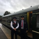Train Crew Tom Tait & Pete Watts, Derbyshire Day 2017 with an early start (07:30)