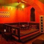 Chajovna - arabská místnost