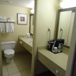 Fairly typical for a Holiday Inn, but well equipped -