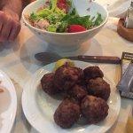 Keftedes & Salad