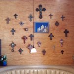 This is a collection of crosses from Mexico.