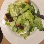 Caesar with almost no dressing
