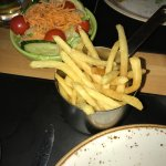 Fries & Salad