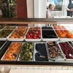Jeden Tag eine große Auswahl von frischem Obst