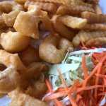 Calamari & fries