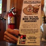Bigfoot burger challenge