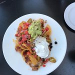 Nachos were delicious -- small portion if sharing