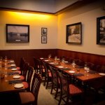 Our private room can accommodate 20 guest and is great for a meetings, parties, and celebrations