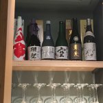 Interesting new sake, try the chilli plum on ice and the sparkling one is a hit with the missies