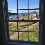 View from bedroom window in one of the cottages