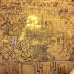 Fantastic tiles in the dining room - must see