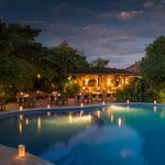 Under the stars,  next to the pool and inside the nature!  Cala Luna Restaurant in Tamarindo Bea