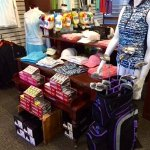 The Golf Shop is well appointed for the lady golfer