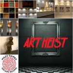 Art Heist, an escape room where players not only are required to escape but also complete a miss