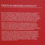 About the French-British Conflict