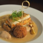 Crawfish Stuffed Redfish Napoleon, Restaurant R'evolution