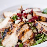 Baby Spinach Salad with Grilled Chicken, Desire Oyster Bar