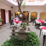 Inner open courtyard (can be used if one does not want to be in the soul-less dinning room with