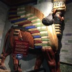 The exhibits are so colorful, like this Egyptian one.
