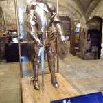 Medieval suit of armour.