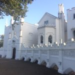 Strawberry Hill House from the front.
