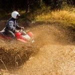 Muddy day... great for Quad Biking!
