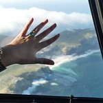 Flying over Cape Point