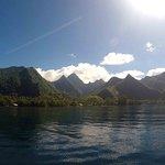 Presqu'île depuis le bateau