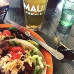 Fish tacos and local brews