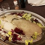 the salt baked sea bass